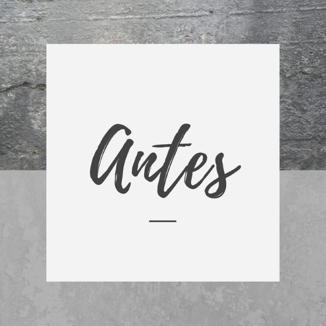 Antes - Fractal project